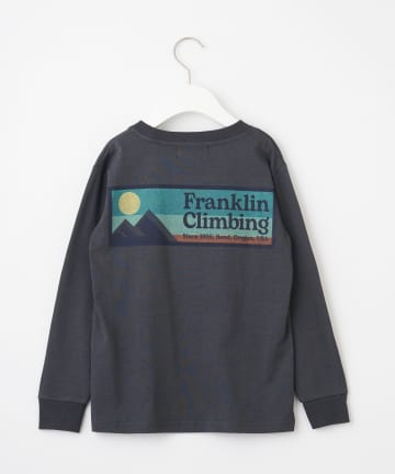 CIAOPANIC TYPY(チャオパニックティピー) 【Franklin Climbing】KID's ロゴロンTEE