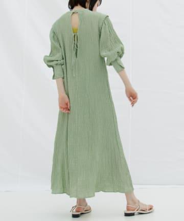 OUTLET(アウトレット) 【Kastane】イージーシャーリングドレス  (ペチキャミ付き)