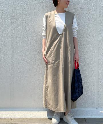 BEARDSLEY(ビアズリー) デニムジャンパースカート