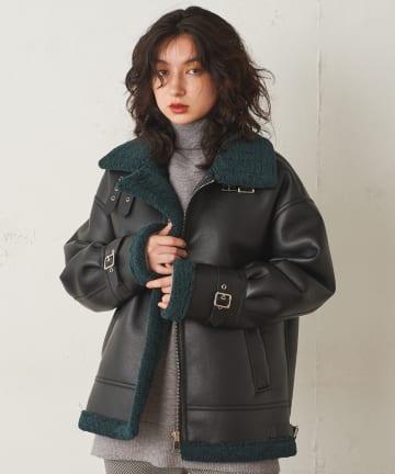 Lui's(ルイス) フェイクムートンB-3ジャケット