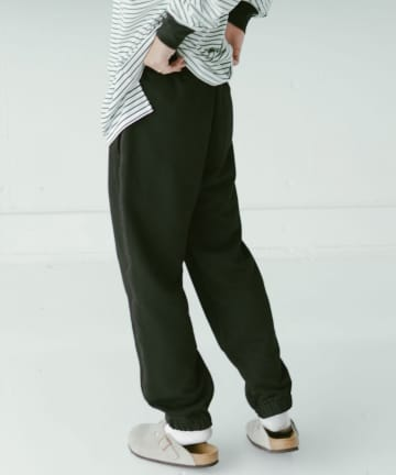 Kastane(カスタネ) 【WHIMSIC】FRENCH TERRY SWEAT PANTS