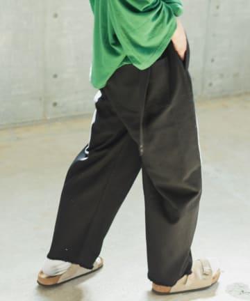 Kastane(カスタネ) 【WHIMSIC】BELTED WRAP PANTS