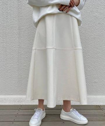 BEARDSLEY(ビアズリー) 《予約・クーポン10%OFF》キルト風フレアスカート