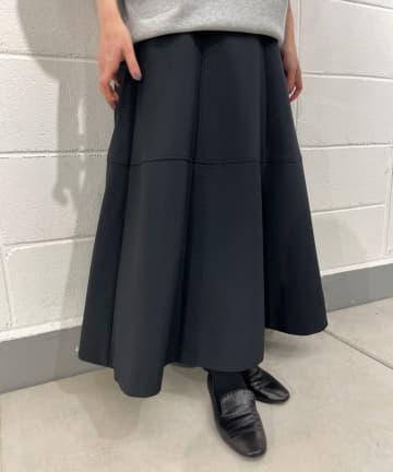 BEARDSLEY(ビアズリー) キルト風フレアスカート
