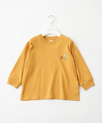 CIAOPANIC TYPY(チャオパニックティピー) 【KIDS】【NORMANBROS×CIAOPANICTYPY】刺繍ロングTee
