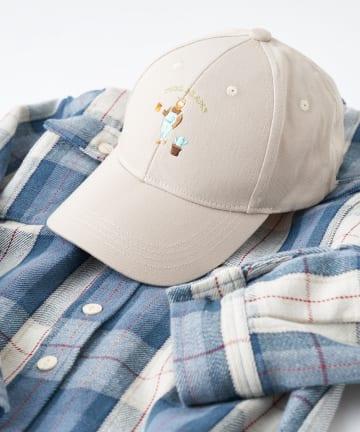 CIAOPANIC TYPY(チャオパニックティピー) 【KIDS】【NORMANBROS×CIAOPANIC TYPY】刺繍cap