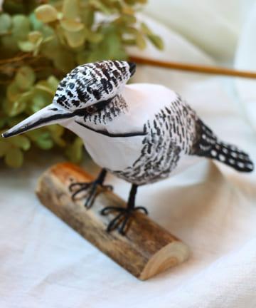 salut!(サリュ) 【野鳥の会】木彫りヤマセミ