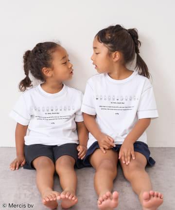 pual ce cin(ピュアルセシン) 【サステナブル・WEB限定】ミッフィープリントTシャツ(kids)
