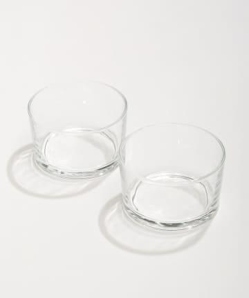 3COINS(スリーコインズ) 【季節を楽しむおうちカフェ】バスクグラス2個セット