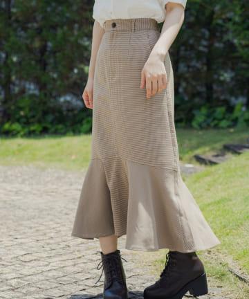OLIVE des OLIVE(オリーブ デ オリーブ) マーメイドスカート