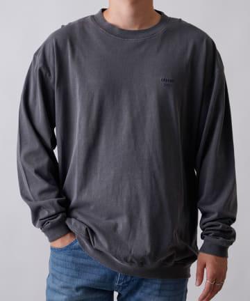 COLONY 2139(コロニー トゥーワンスリーナイン) ピグメント加工長袖Tシャツ