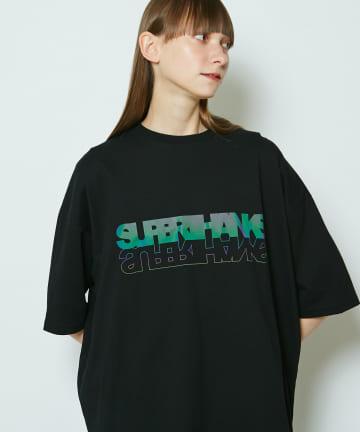 CIAOPANIC(チャオパニック) 【SUPERTHANKS/スーパーサンクス】HOLOGRAM PRINT BIG TEE