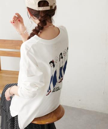 Discoat(ディスコート) TOKYO SOMEGIRLS ロングスリーブTシャツ
