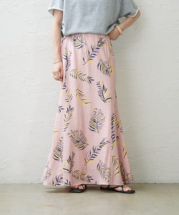 Omekashi(オメカシ) リーフマーメイドスカート