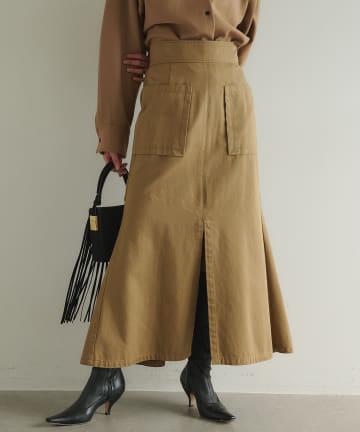 GALLARDAGALANTE(ガリャルダガランテ) ミリタリークロスマーメイドスカート