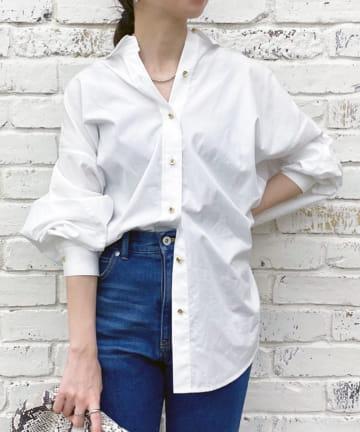 Loungedress(ラウンジドレス) ドルマンBIGシャツ