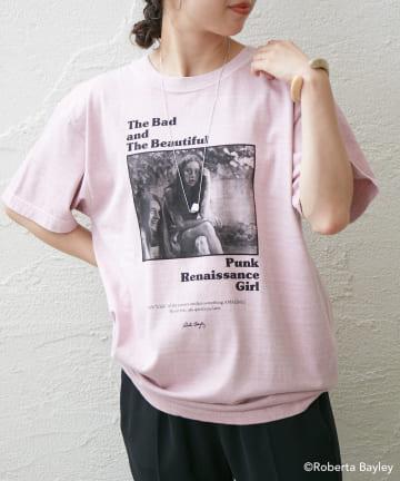 Omekashi(オメカシ) RobertaBayleyフォトTシャツ