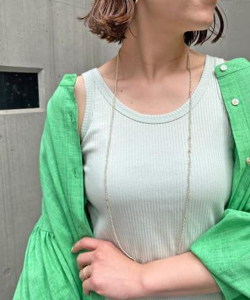 OUTLET(アウトレット) 【Omekashi】アメスリタンクトップ
