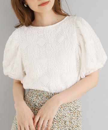 NICE CLAUP OUTLET(ナイスクラップ アウトレット) 【one afteranother】flowerTee
