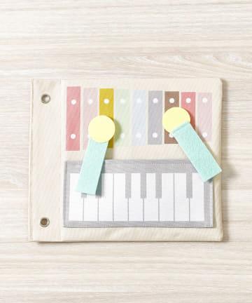 3COINS(スリーコインズ) 【楽しく学ぼう】知育シート:音楽