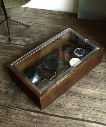 3COINS(スリーコインズ) 【小物収納にこだわる。】コレクションボックス