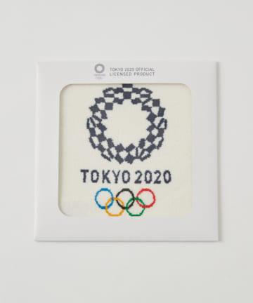 BIRTHDAY BAR(バースデイバー) オリンピックエンブレム シェニール織り ミニタオル
