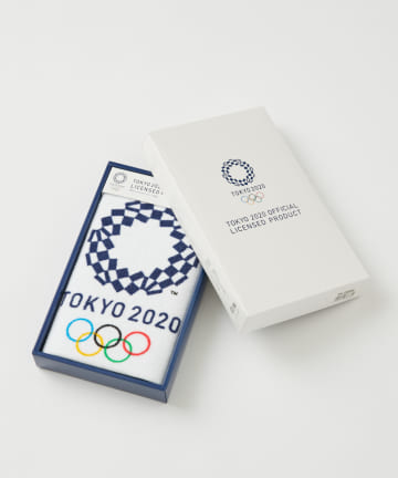BIRTHDAY BAR(バースデイバー) オリンピックエンブレム ギフト ウォッシュタオル