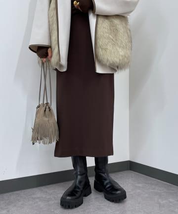 Loungedress(ラウンジドレス) ポンチタイトスカート