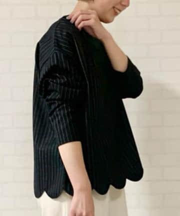 BEARDSLEY(ビアズリー) スカラー刺繍ブラウス