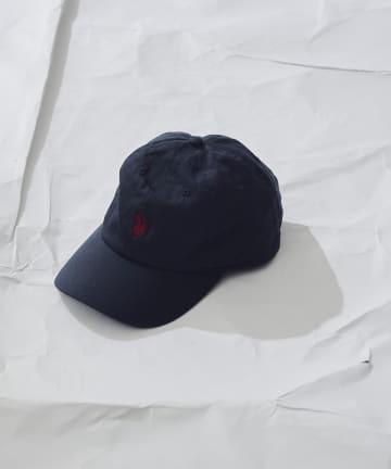 CPCM(シーピーシーエム) 【U.S. POLO ASSN. /ユーエスポロアッスン】刺繍ツイルキャップ