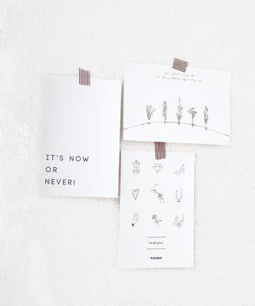 ASOKO(アソコ) 【fem fem fem】ポストカード3枚セット