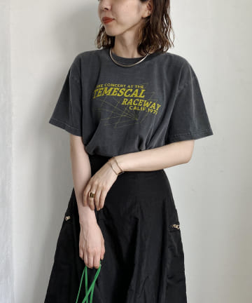 CAPRICIEUX LE'MAGE(カプリシュレマージュ) 【GOOD ROCK SPEED】TEMESCAL RACEWAY Tシャツ