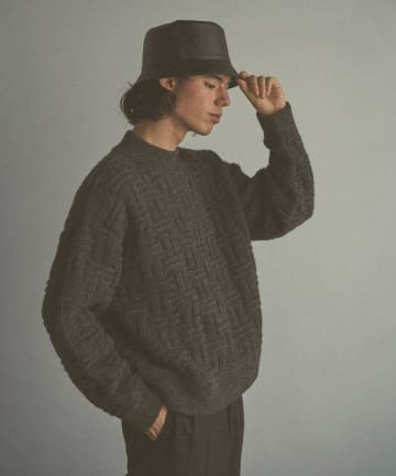 Lui's(ルイス) 【CLANE HOMME Exclusive】 Mockneck Sweater