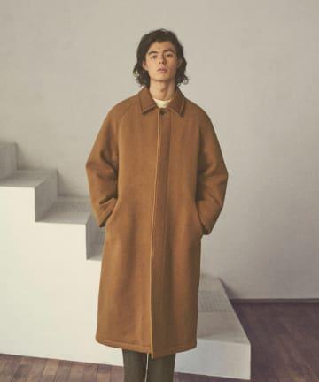 Lui's(ルイス) 【CLANE HOMME Exclusive】 Balmacaan Coat