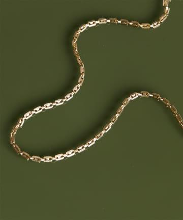 GALLARDAGALANTE(ガリャルダガランテ) デザインチェーンショートネックレス