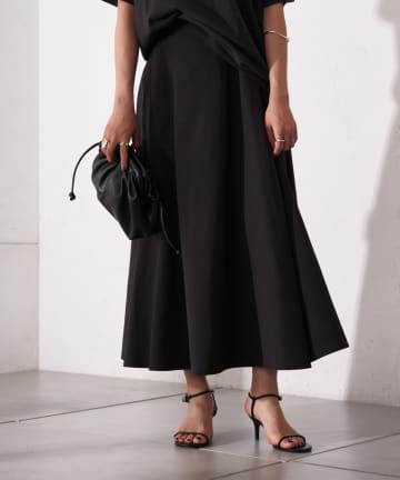 Loungedress(ラウンジドレス) タフタフレアスカート