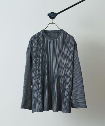 Lui's(ルイス) プリーツビッグロングTシャツ
