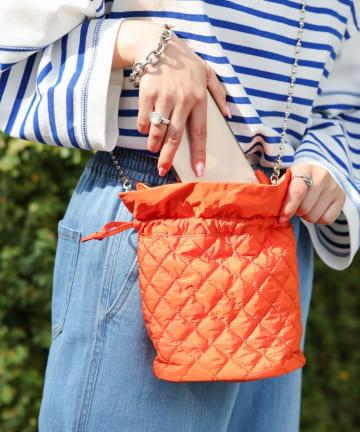 CIAOPANIC TYPY(チャオパニックティピー) キルティング巾着ショルダー