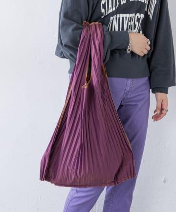 CIAOPANIC TYPY(チャオパニックティピー) リバーシブルプリーツバッグ