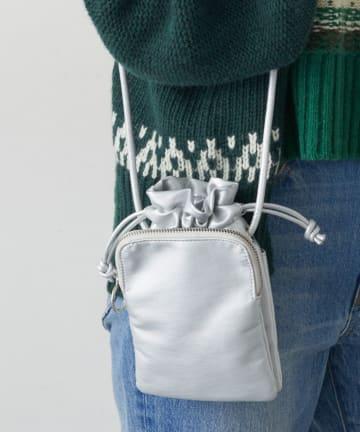 CIAOPANIC TYPY(チャオパニックティピー) ダブルポケット巾着ポシェット