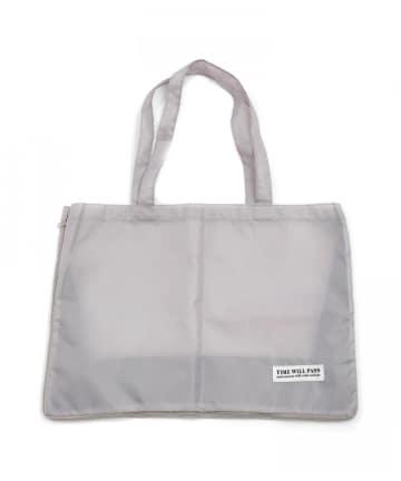 3COINS(スリーコインズ) 【目的に合わせて機能いろいろ】マチ拡張ショッピングバッグ
