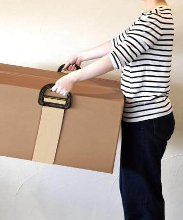 3COINS(スリーコインズ) 【宅配を便利で快適に】重たい荷物を運べるベルト