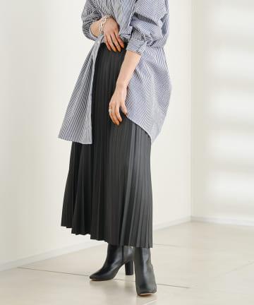 DOUDOU(ドゥドゥ) 【WEB限定】アコーディオンプリーツスカート
