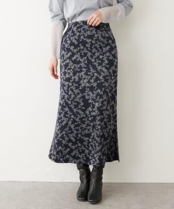 COLLAGE GALLARDAGALANTE(コラージュ ガリャルダガランテ) マイクロサテンフラワースカート