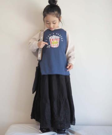 CIAOPANIC TYPY(チャオパニックティピー) 【KIDS】ラグランfoodtee