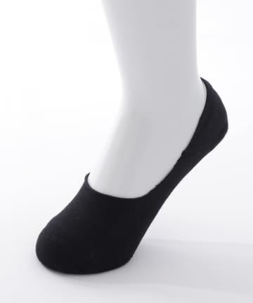 3COINS(スリーコインズ) 底薄パイルパンプスカバー:深履きタイプ