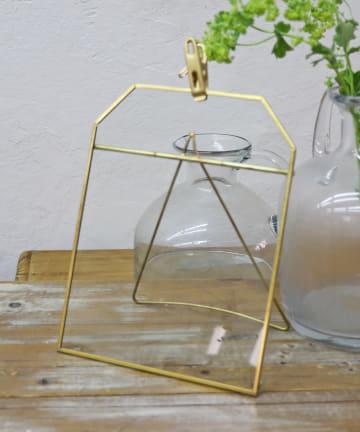 salut!(サリュ) 【花のある暮らし】ブラスグラスクリップボード