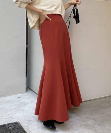 CAPRICIEUX LE'MAGE(カプリシュレマージュ) ストレッチハイウエストマーメイドスカート