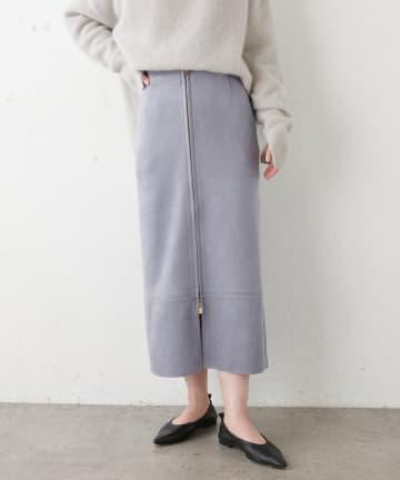 COLLAGE GALLARDAGALANTE(コラージュ ガリャルダガランテ) スウェードタイトスカート