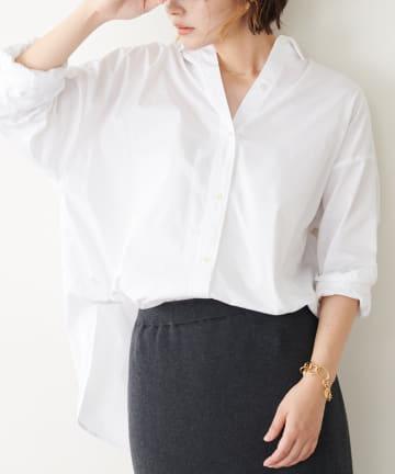 COLLAGE GALLARDAGALANTE(コラージュ ガリャルダガランテ) オーバーサイズシャツ